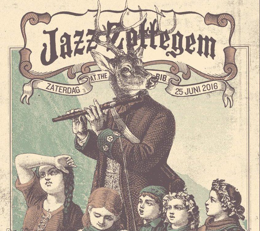 affiche jazz Zottegem 2016